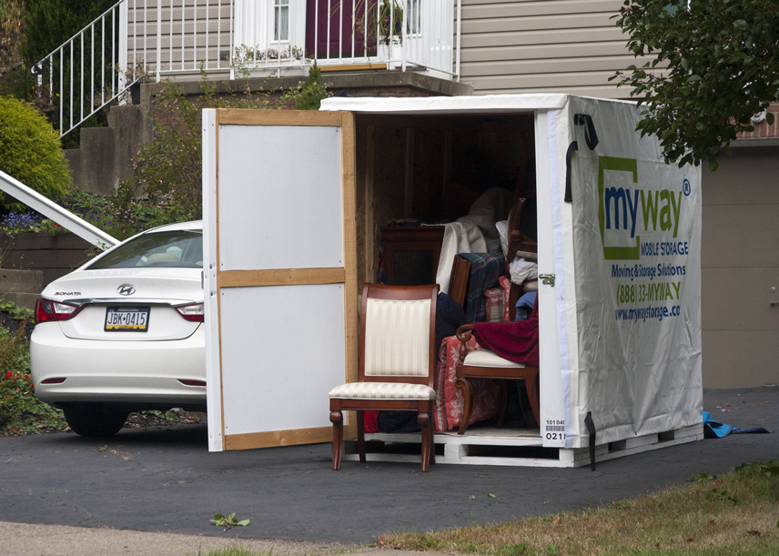 home moving containers
