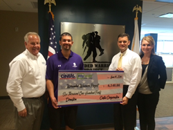 myway mobile storage of pittsburgh gives to Wounded Warrior project