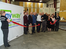 myway mobile storage of grand rapids ribbon cutting