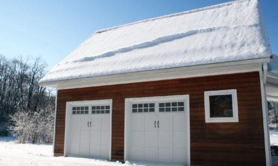 winterizing your garage