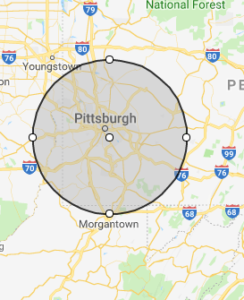 myway mobile storage of pittsburgh service area