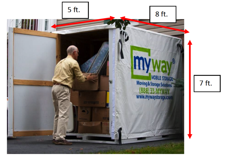 myway mobile storage safebox dimensions